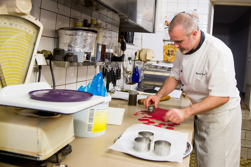 Thierry Voegtling cours de pâtisserie Bouxwiller