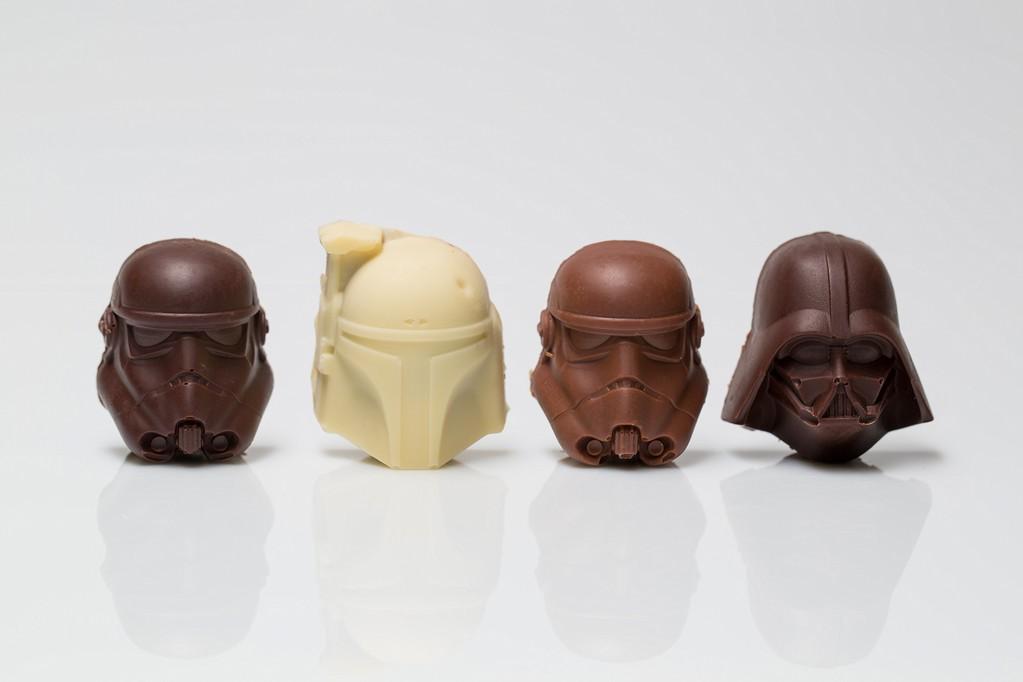 Chocolat fourre praline fait maison patisserie Voegtling BOuxwiller