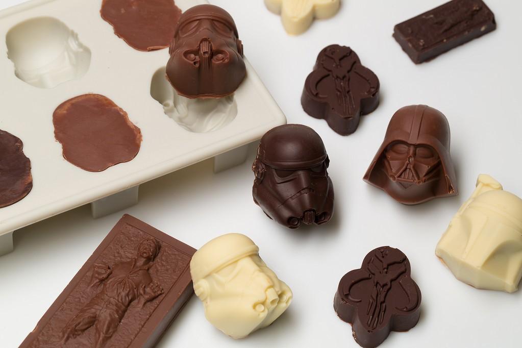Chocolat fourre praline patissier-chocolatier- salon de thé Tierry Vegtling Bouxwiller