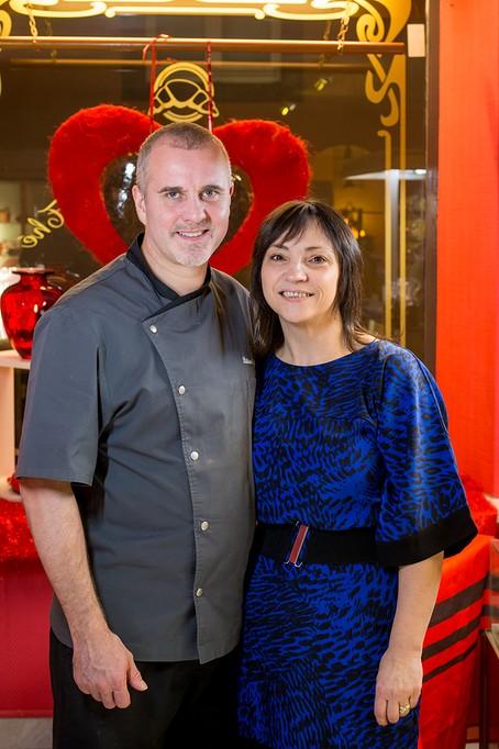 Thierry et Nathalie Voegtling patisserie salon de the Bouxwiller