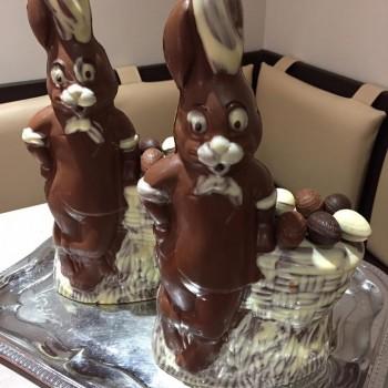PÂQUES 2017 pâtisserie VOEGTLING lapins chocolats